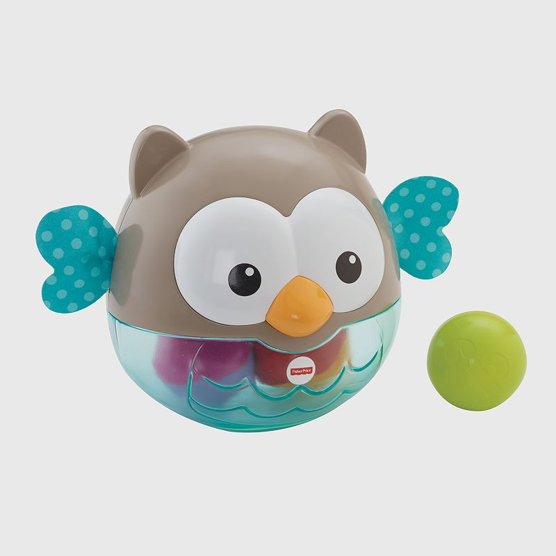 Fisher-Price 2-in-1 Owl Chime Ball