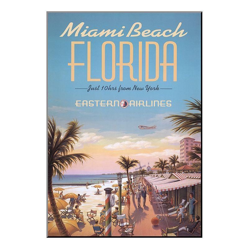 Art.com ''Miami Beach'' Wood Wall Art