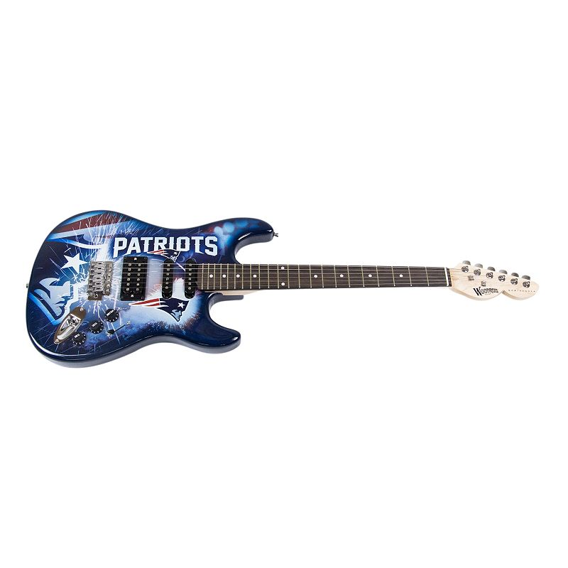 Woodrow New England Patriots Northender Electric Guitar