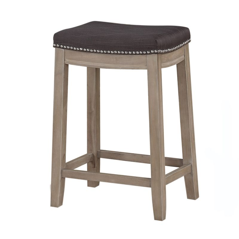 Padded Seat Wood Counter Stool Kohl S