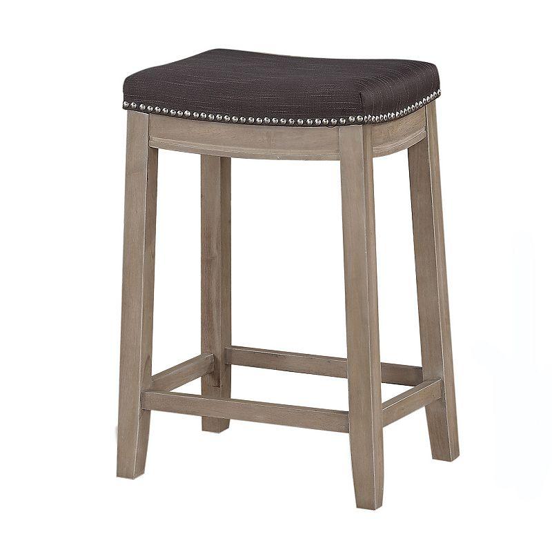 Padded Seat Wood Counter Stool Kohl S