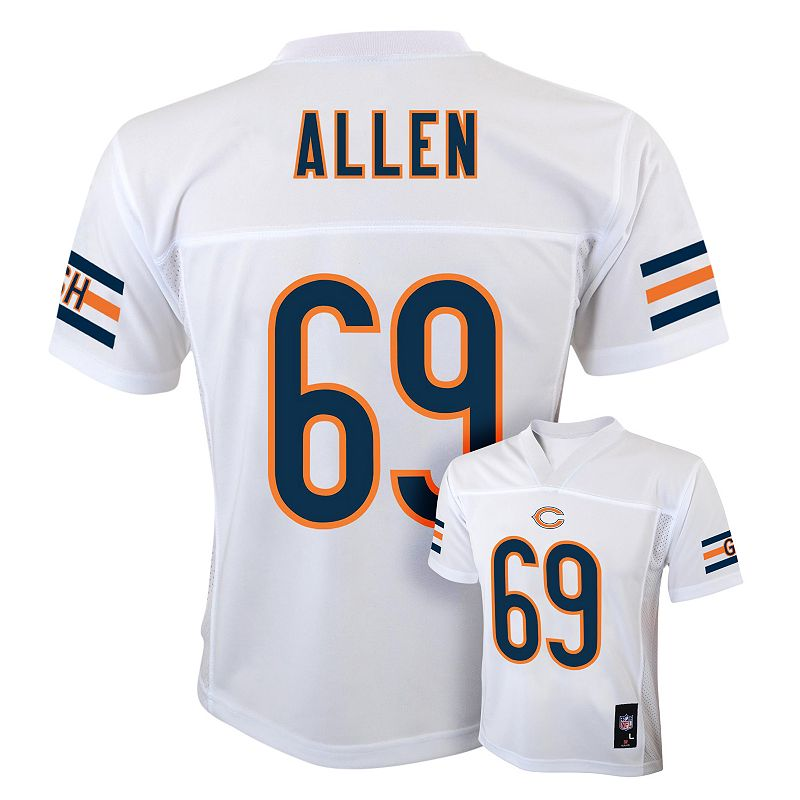 Boys 8-20 Chicago Bears Jared Allen NFL Replica Jersey