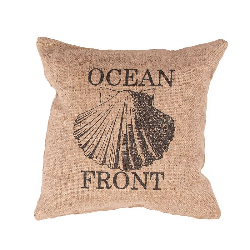 Jaipur ''Ocean Front'' Throw Pillow