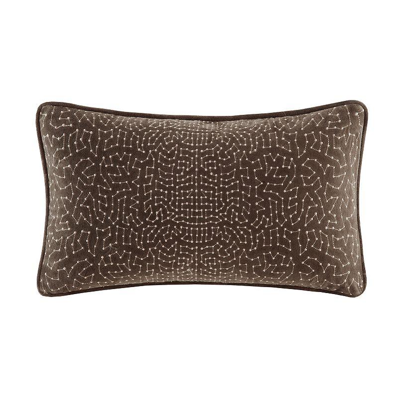 Metropolitan Home Eclipse Embroidered Throw Pillow