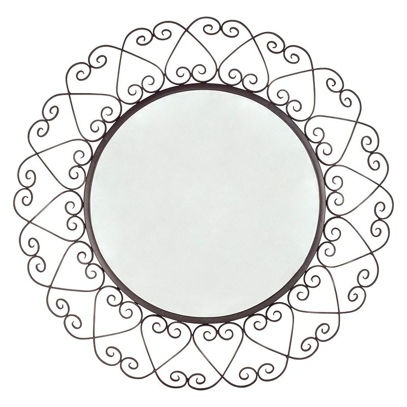 Wrought Iron Wall Mirror