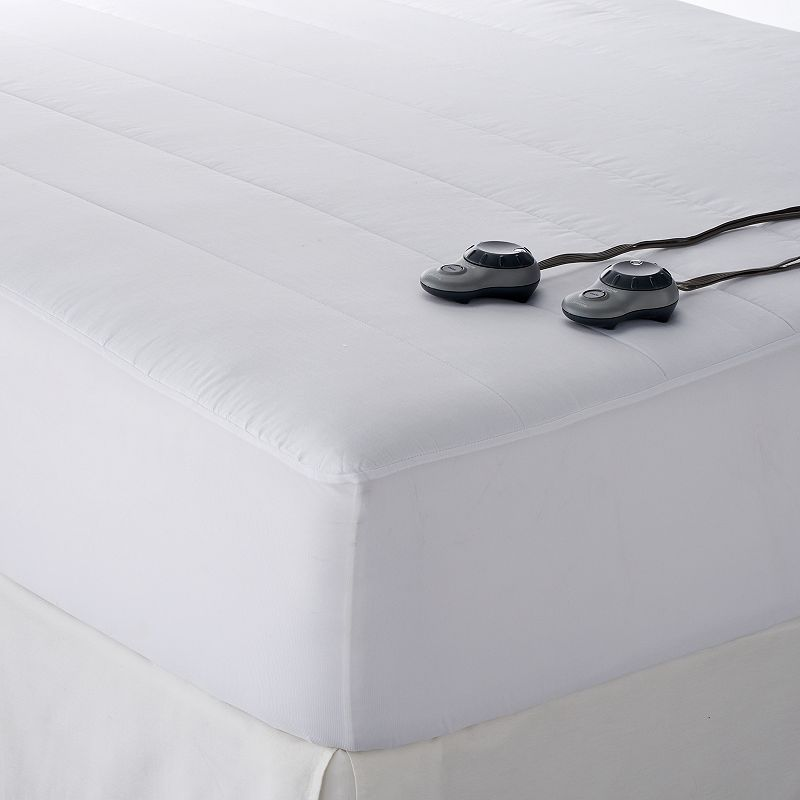 Sunbeam Slumber Rest Quilted Electric Mattress Pad
