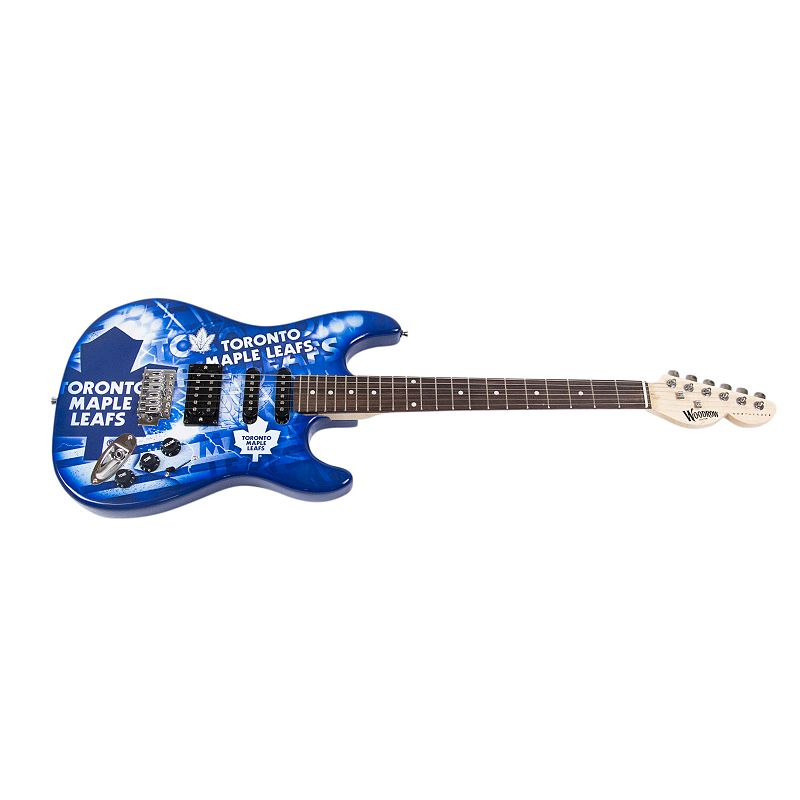 Woodrow Toronto Maple Leafs Northender Electric Guitar