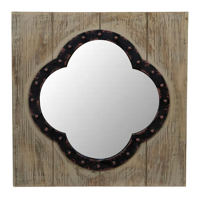 Decor Therapy Rustic Wall Mirror