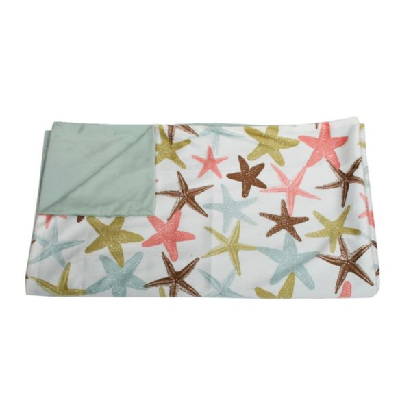 Thro Atlantis Starfish Microplush Throw
