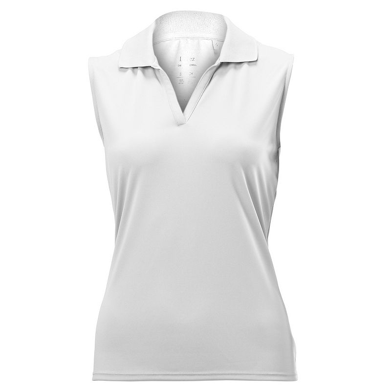 Plus Size Nancy Lopez Luster Sleeveless Golf Polo