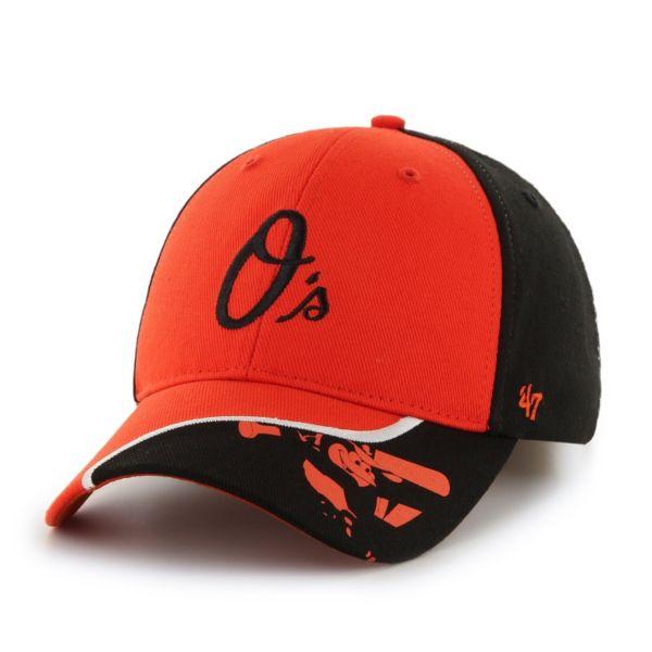 Youth '47 Brand Baltimore Orioles Hambone Adjustable Cap