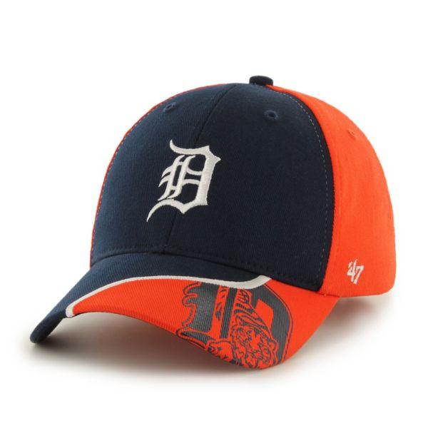 Youth '47 Brand Detroit Tigers Hambone Adjustable Cap