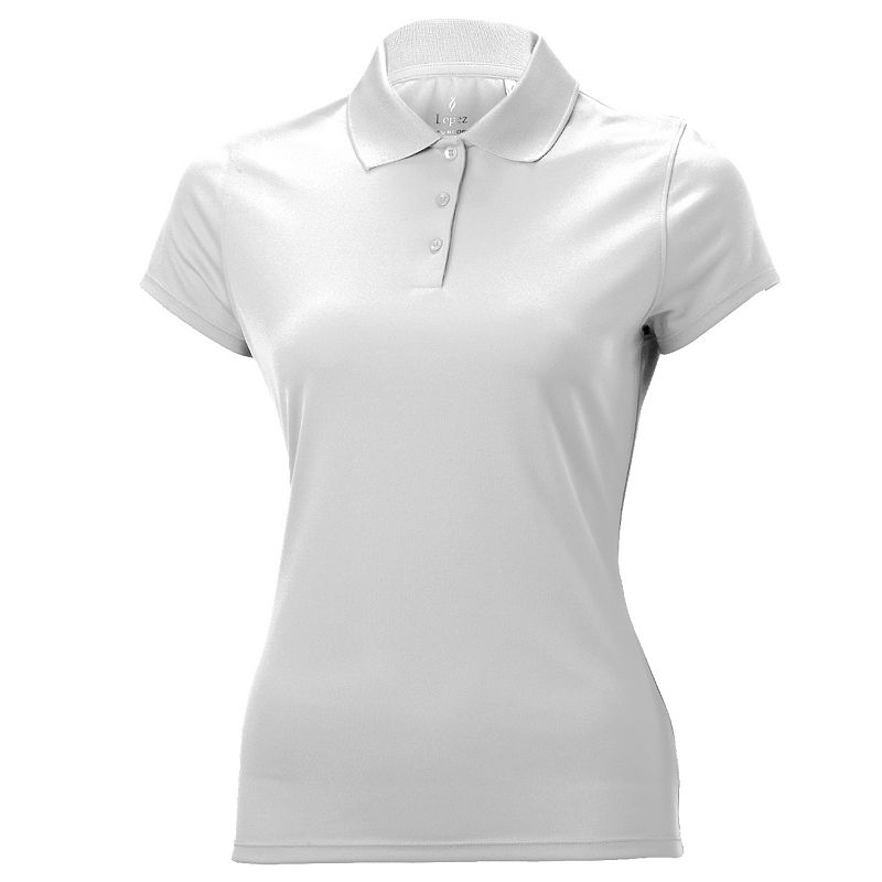Plus Size Nancy Lopez Luster Golf Polo
