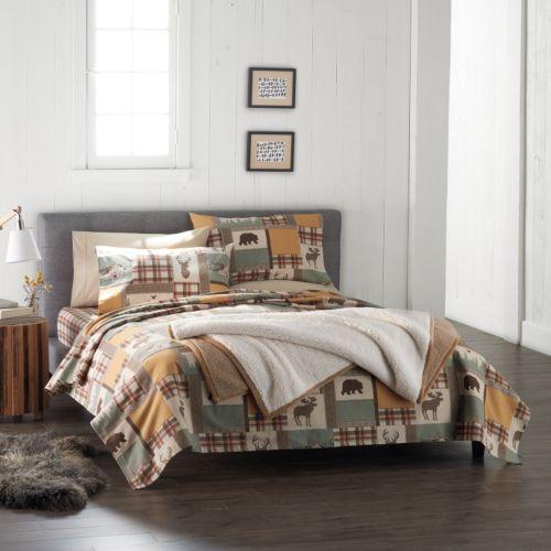 the kohl's black friday sale! cuddl duds flannel sheet set - just