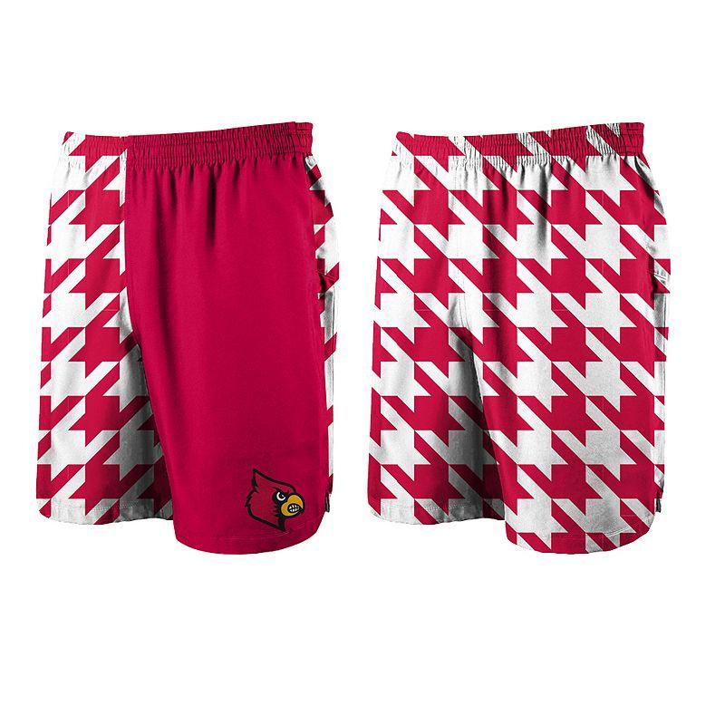 Men's Loudmouth Golf Louisville Cardinals Spirit Shorts