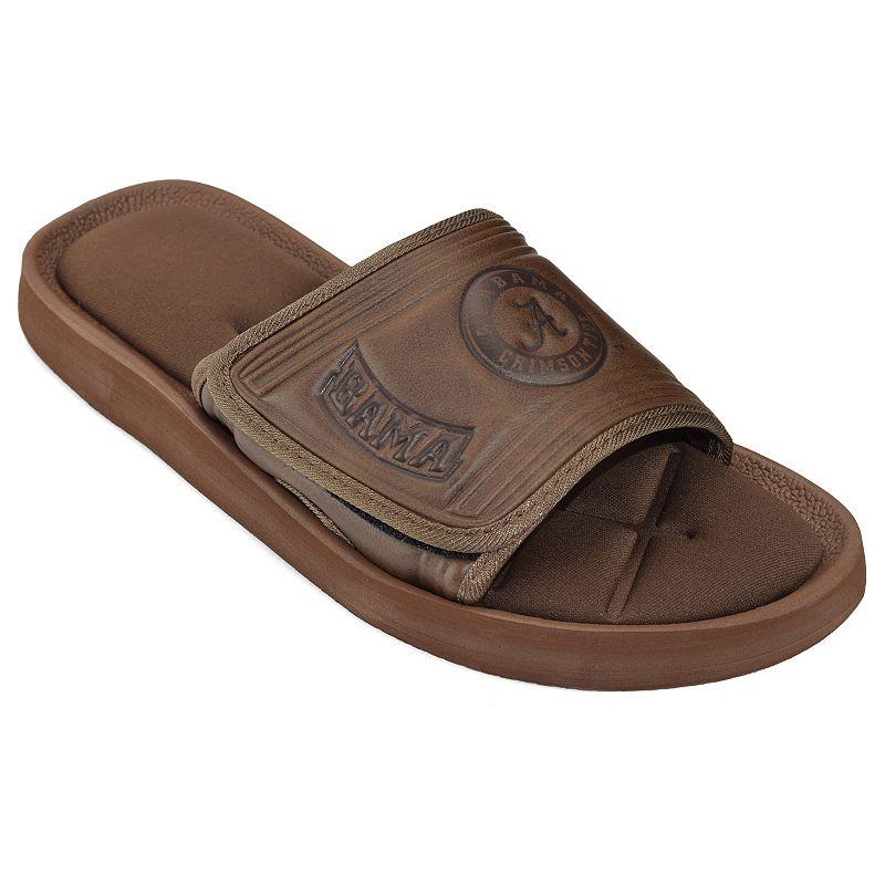 Adult Alabama Crimson Tide Memory Foam Slide Sandals
