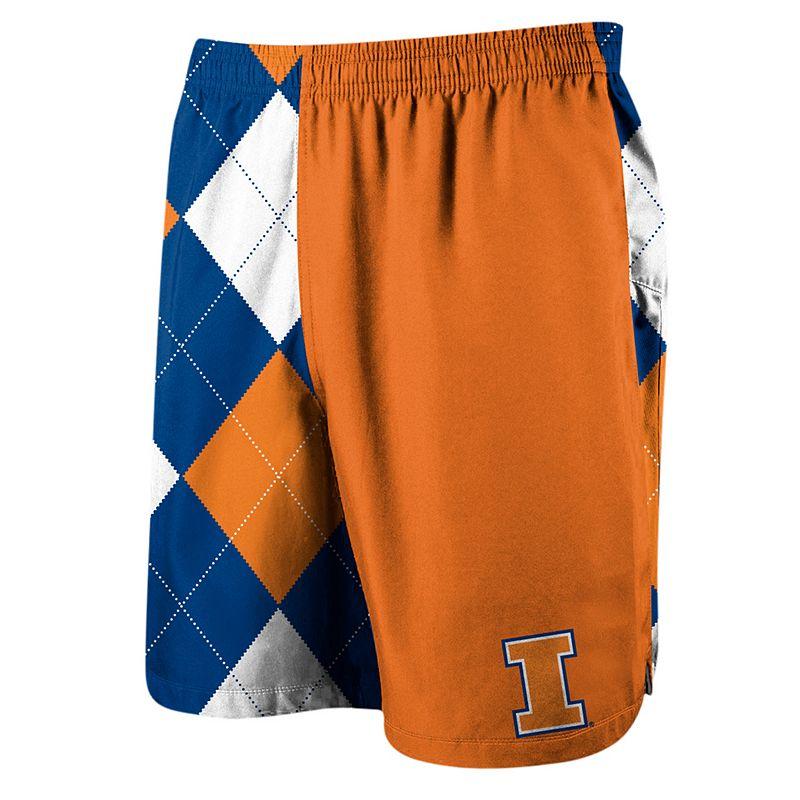 Men's Loudmouth Golf Illinois Fighting Illini Spirit Shorts