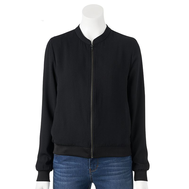 Women's Apt. 9® Floral Crepe Jacket
