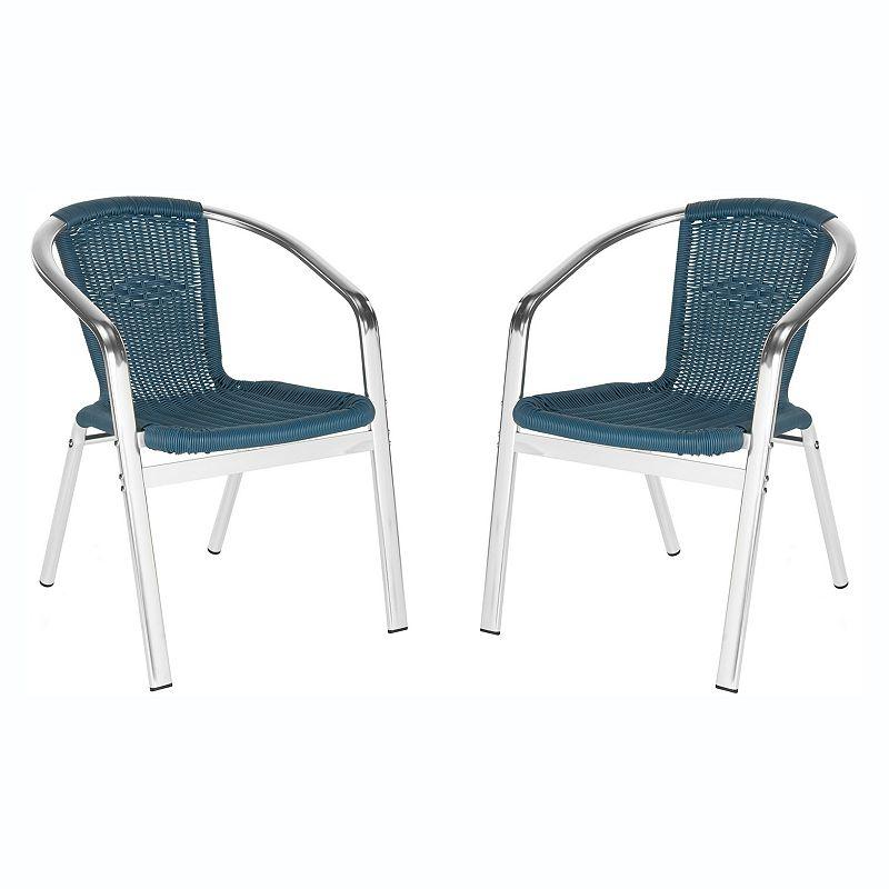 Safavieh 2-piece Wrangell Stacking Chair Set