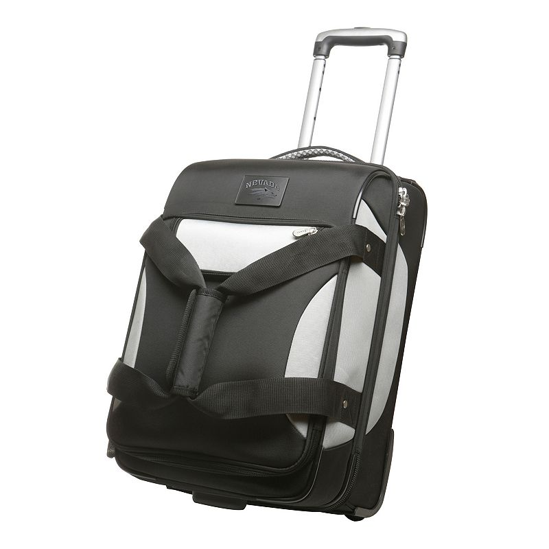 Nevada Wolfpack 22-inch Drop-Bottom Wheeled Carry-On