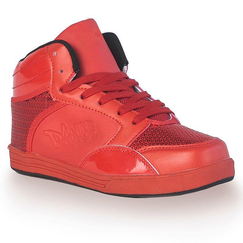 Gia-Mia Flash Women's Sequin High-Top Sneakers