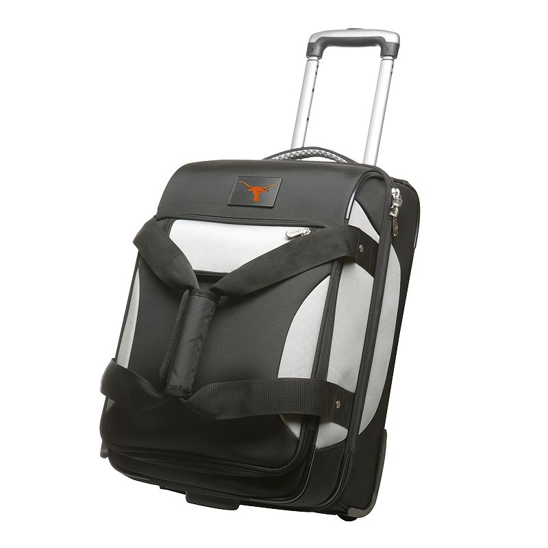 Texas Longhorns 22-inch Wheeled Drop-Bottom Carry-On