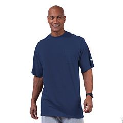 Big & Tall Champion Solid Pocket Tee