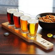 Cathy's Concepts Personalized 5-pc. Beer Flight Sampler Set, Brown
