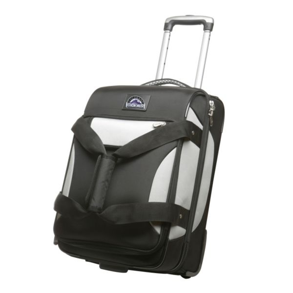 Colorado Rockies 22-inch Wheeled Drop-Bottom Carry-On