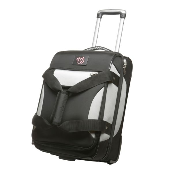 Washington Nationals 22-inch Wheeled Drop-Bottom Carry-On