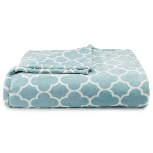 The Big One Super Soft Plush Blanket, FULL/QUEEN