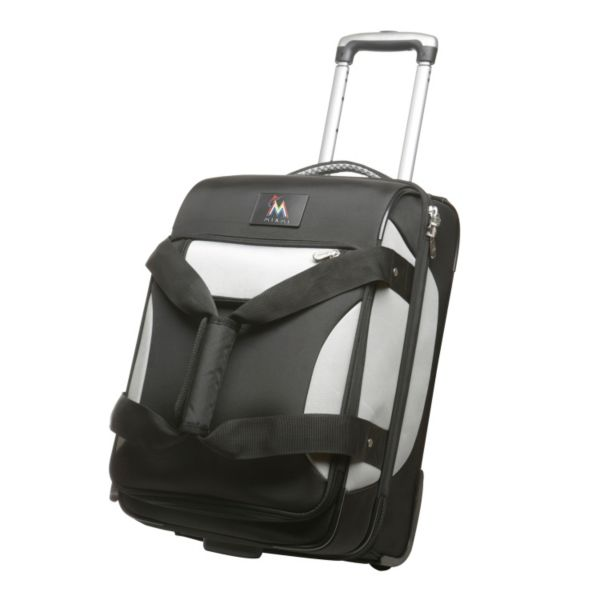 Miami Marlins 22-inch Wheeled Drop-Bottom Carry-On
