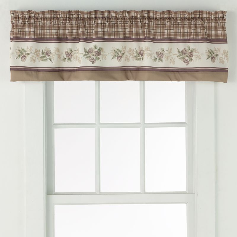 No918 Berkshire Tier Valance - 56'' x 14''