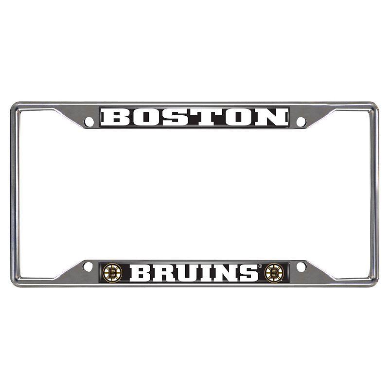 Boston Bruins License Plate Frame