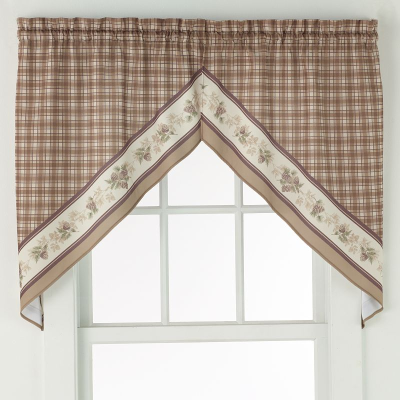 No918 Berkshire Swag Curtain Pair - 56'' x 38''