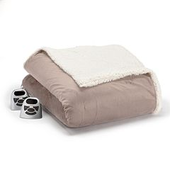 Biddeford Micromink & Sherpa Electric Blanket by