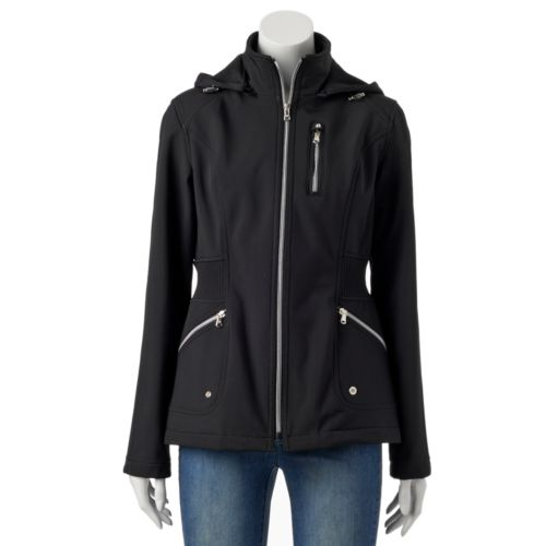 Women's Halifax Solid Hooded Soft Shell Jacket