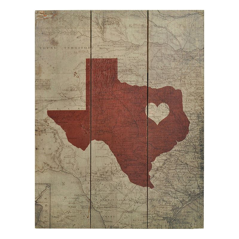 Sheffield Home Texas Usa Wall Decor