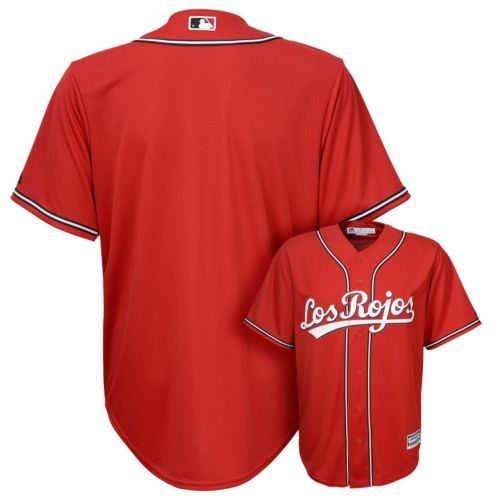 Boys 8-20 Majestic Cincinnati Reds Cool Base Replica MLB Jersey