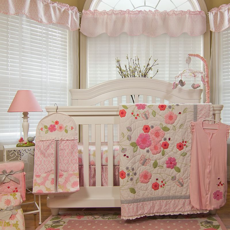 Nurture Garden District 4-pc. Crib Bedding Set