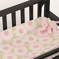 Nurture Garden District Velour Changing Pad Cover