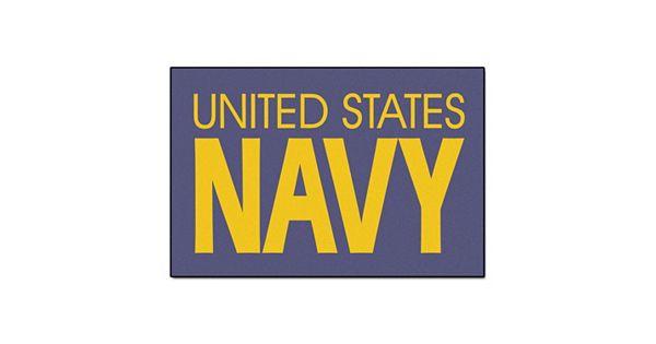 Kohls Wedding Registry Gift Card : FANMATS US Navy Starter Rug - 19 30