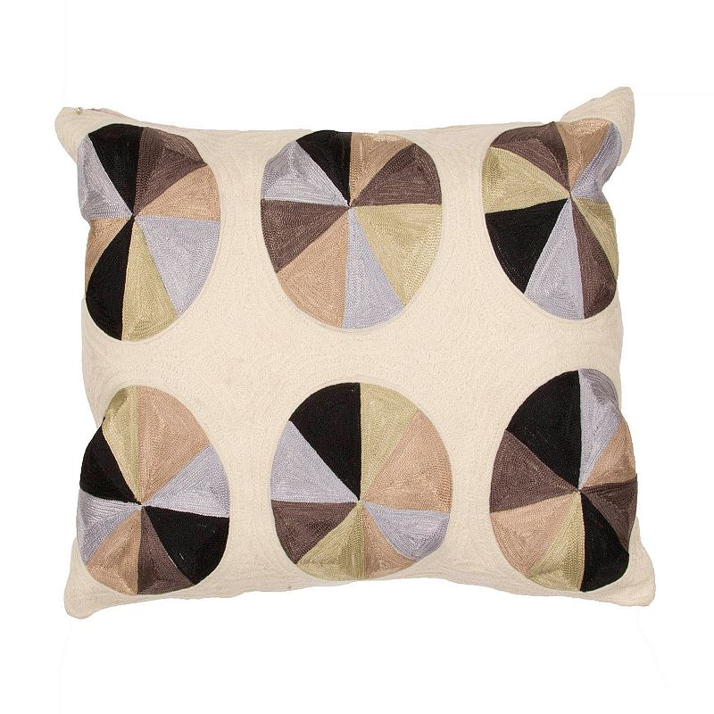 Jaipur Pinwheel Throw Pillow