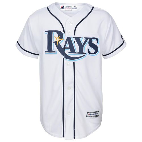 Boys 8-20 Majestic Tampa Bay Rays Home Replica MLB Jersey