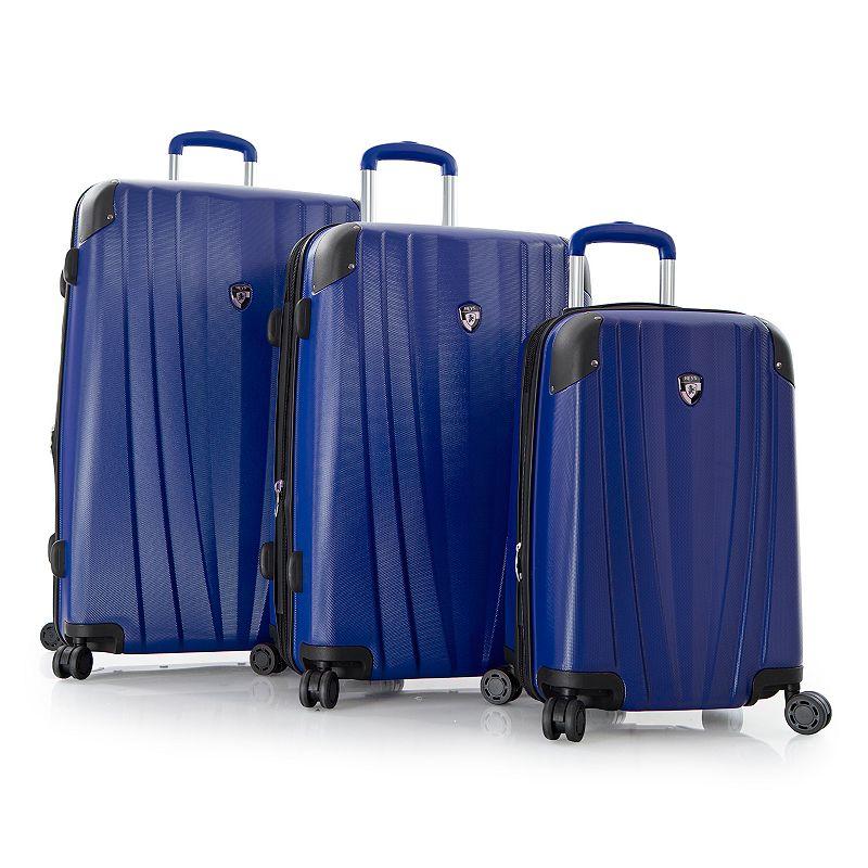 Heys Velocity 3-Piece Hardside Spinner Luggage Set
