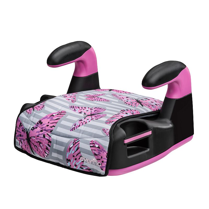 Evenflo AMP LX Printed Backless Booster Seat