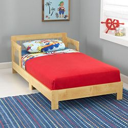 KidKraft Toddler Houston Bed (Natural)