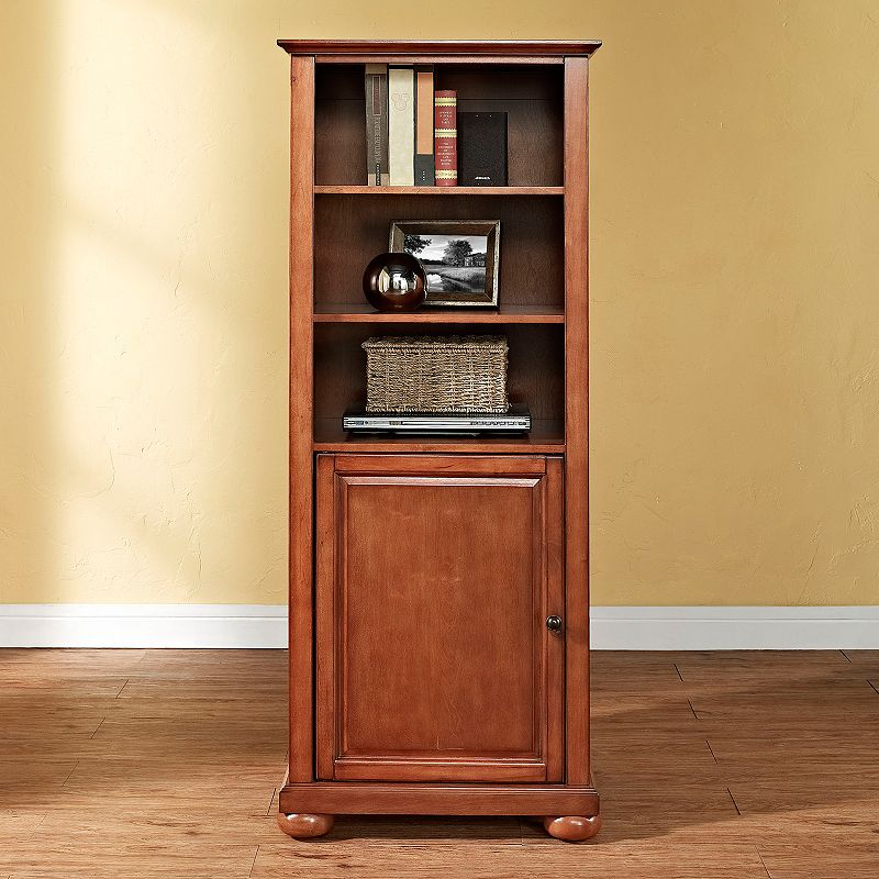 Crosley Furniture Alexandria Console Tower Cabinet