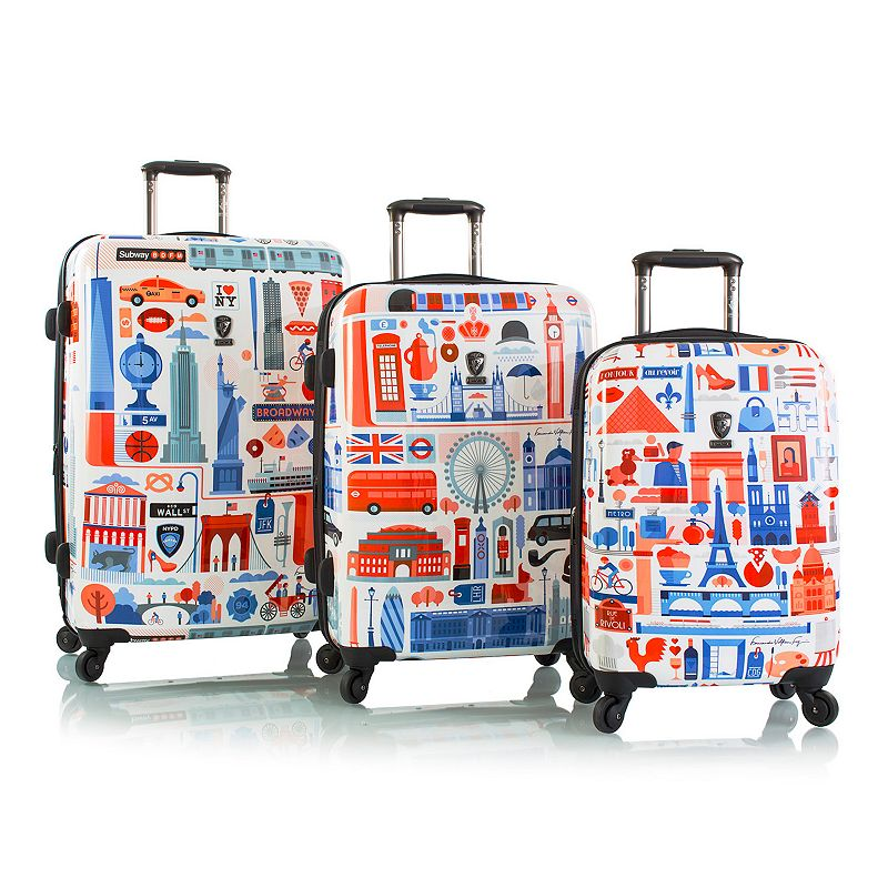 Heys Cities 3-Piece Hardside Luggage Set