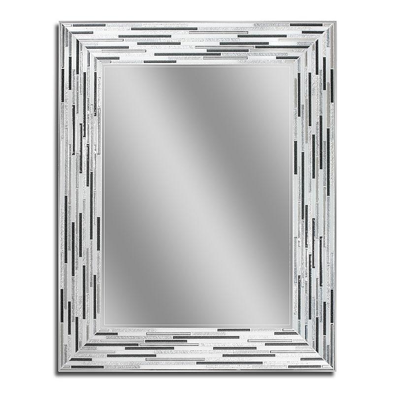 Head West Reeded Wall Mirror